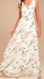 floral lulus dress