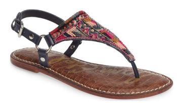 sam edelman beaded sandal