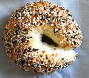 5 Ingredient Homemade Bagels Under 200 Calories